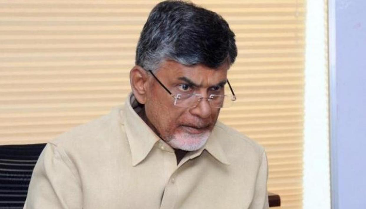 NAIDU BLOCKS CBI'S ENTRY INTO ANDHRA PRADESH