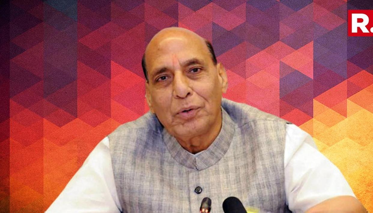 ''Congress Failed To Develop Mizoram'' Says Rajnath Singh
