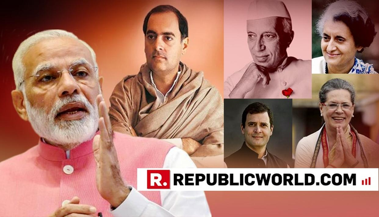 ULTIMATE FACTS | HERE'S A FACT-SHEET ON HOW THE NEHRU-GANDHI FAMILY HAS TREATED THE CONGRESS PRESIDENT POST LIKE FAMILY HEIRLOOM
