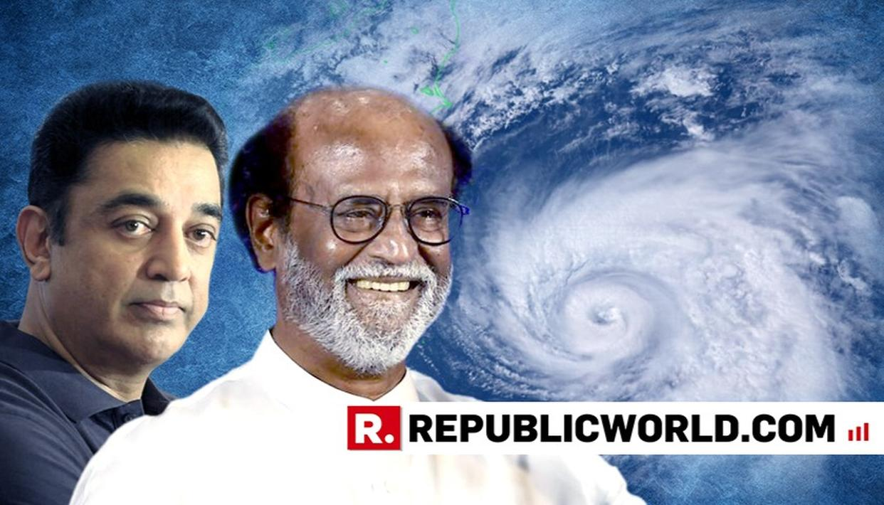 CYCLONE GAJA: RAJINIKANTH AND KAMAL HAASAN APPLAUD THE GOVERNMENT'S RELIEF EFFORT IN DISASTER-HIT ZONES