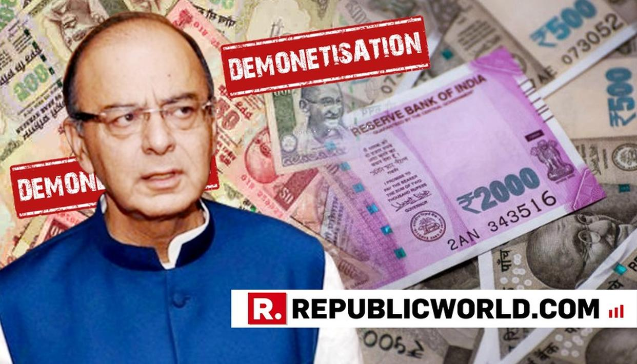 ''DEMONETISATION WAS A HIGHLY ETHICAL MOVE, NOT POLITICAL'', SAYS ARUN JAITLEY