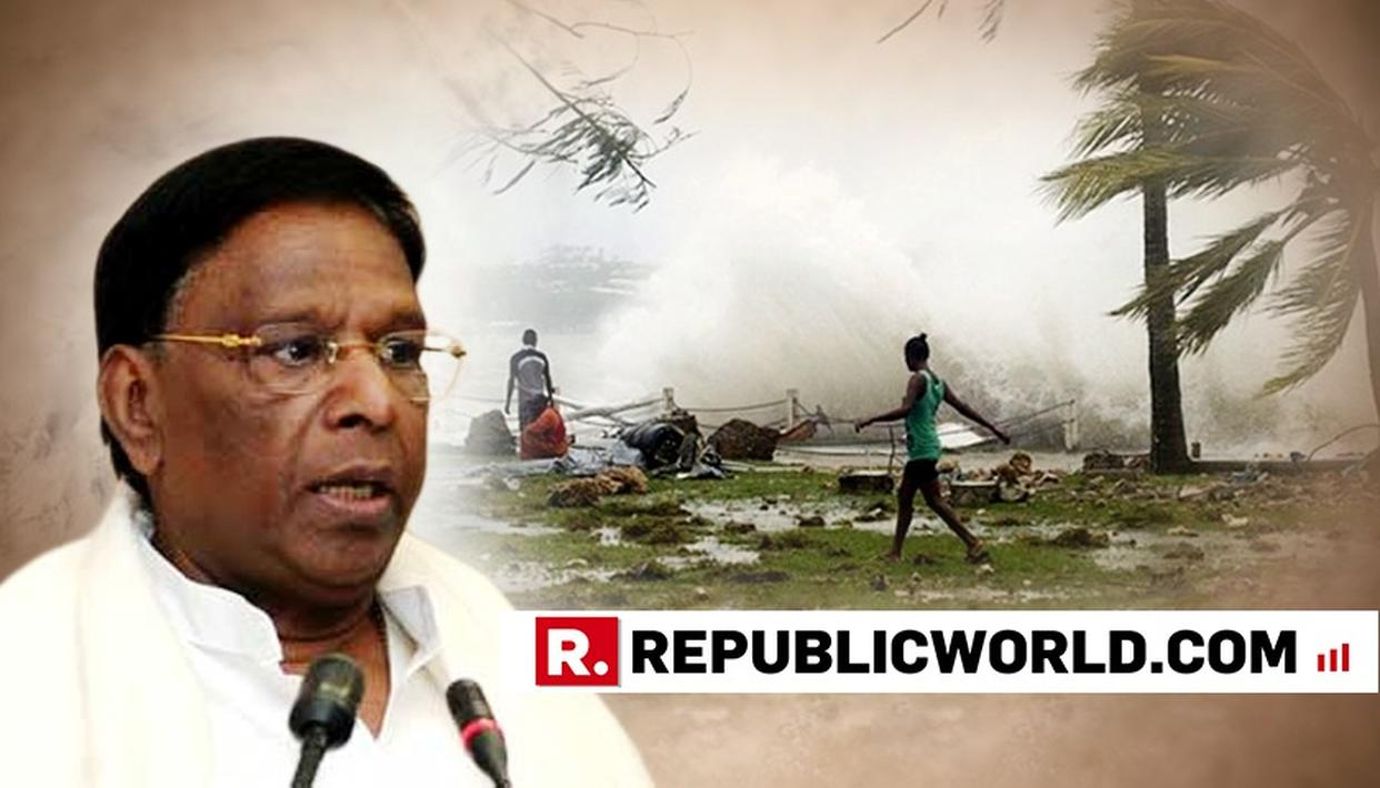 Puducherry Chief Minister Apprises Centre Of Damage Caused By Cyclone Gaja In Karaikal