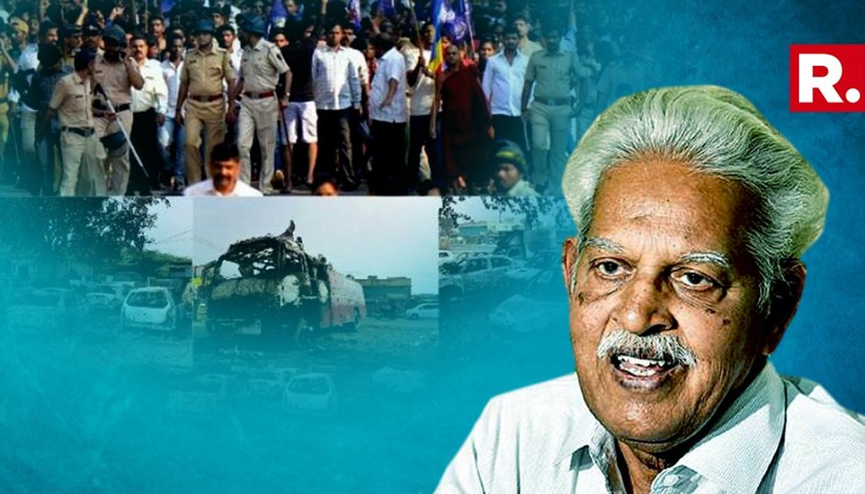 BHIMA KOREGAON VIOLENCE CASE: VARAVARA RAO ARRESTED BY PUNE POLICE, TAKEN INTO CUSTODY