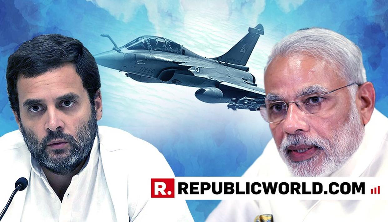 RAHUL CHALLENGES PM MODI FOR DEBATE OVER RAFALE DEAL