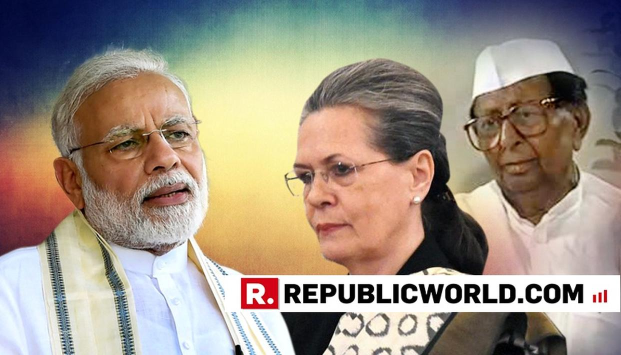'DALIT LEADER SITARAM KESRI WAS THROWN OUT OF OFFICE TO MAKE WAY FOR SONIA GANDHI,' ALLEGES PM MODI AFTER DARING CONGRESS TO MAKE A NON NEHRU OT GANDHI PARTY PRESIDENT