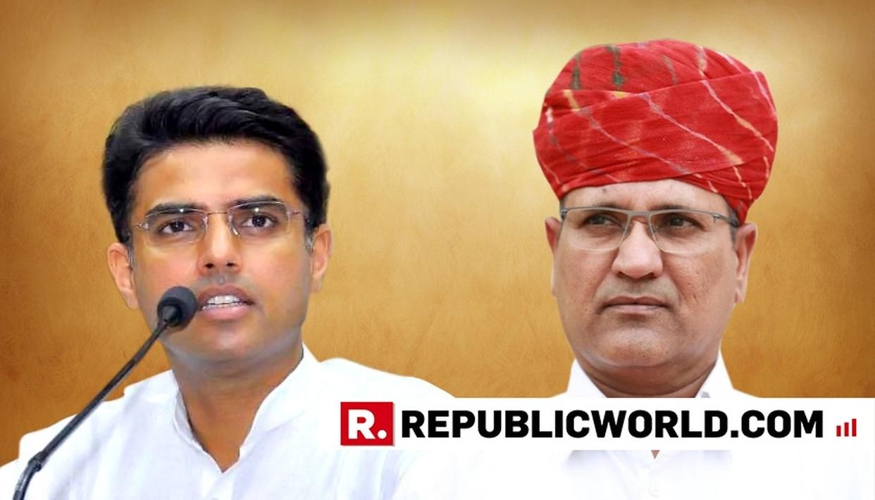 RAJASTHAN CONGRESS SPLIT WIDE OPEN: RAMESHWARLAL DUDI TO NOT CONTEST POLLS TILL HIS CANDIDATE GIVEN TICKET