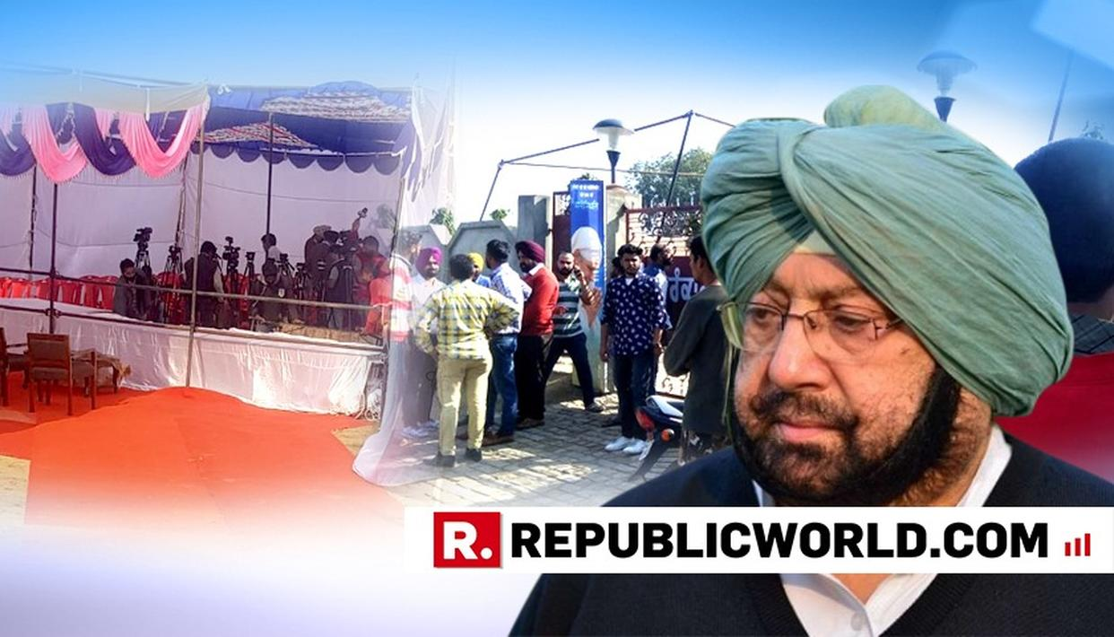AMRITSAR ATTACK SITE DRESSED UP AS EVENT STAGE FOR CM?