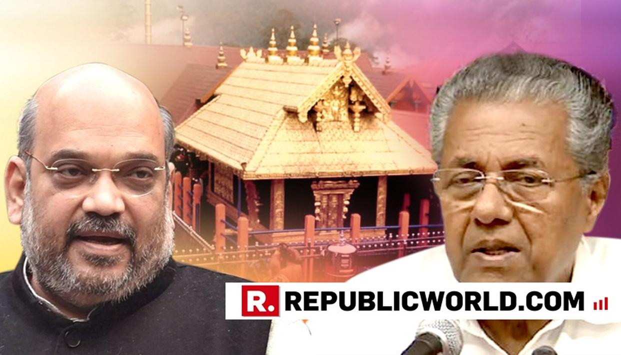 ''KERALA GOVERNMENT'S HANDLING OF SABARIMALA ISSUE IS DISAPPOINTING'', SAYS AMIT SHAH