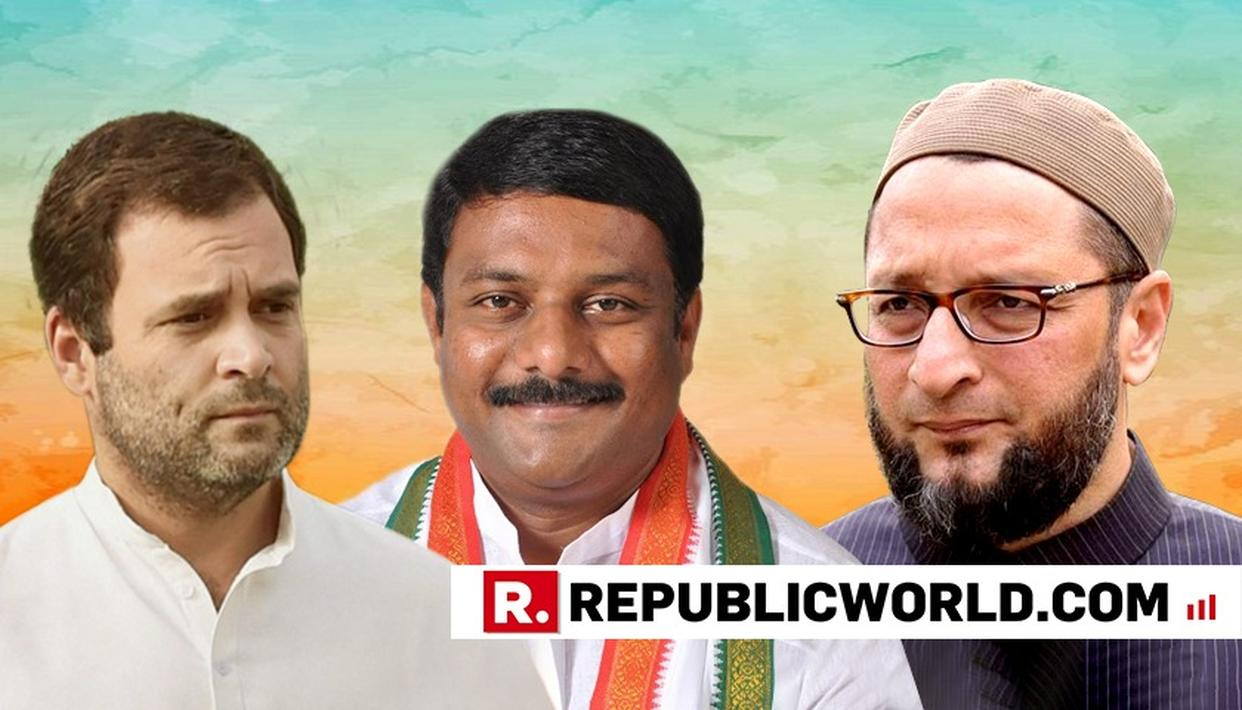 CONGRESS LEADER RUBBISHES OWAISI'S BRIBE ALLEGATIONS