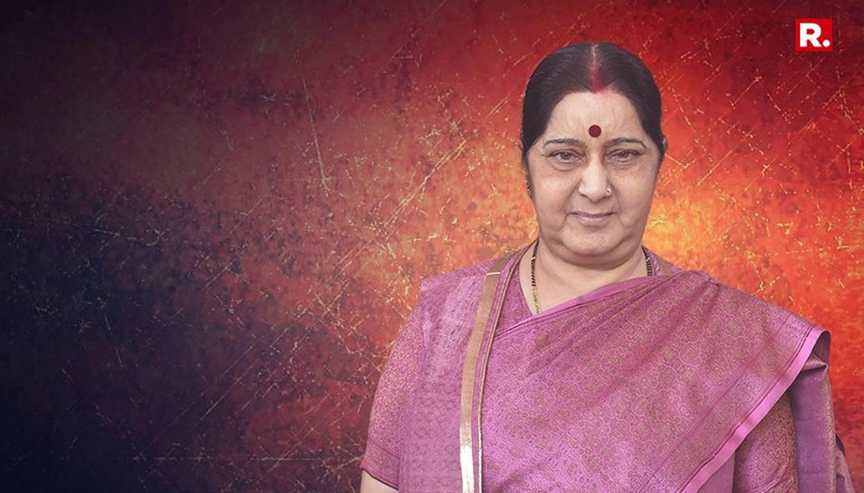SUSHMA SWARAJ NOT TO CONTEST IN 2019 LOK SABHA POLLS