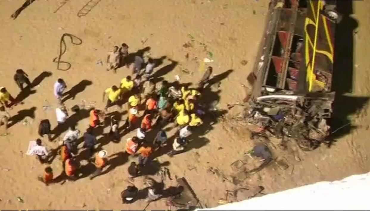 12 DEAD, 49 INJURED IN ODISHA BUS TRAGEDY