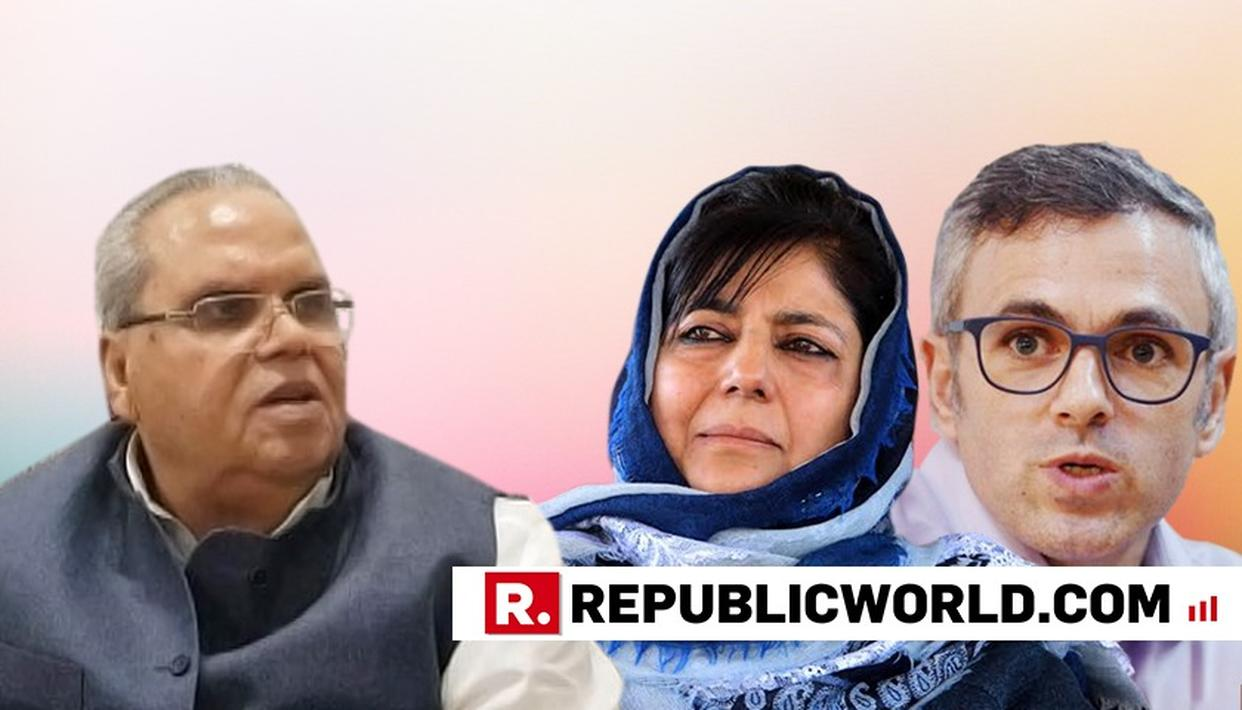 EXCLUSIVE: SATYAPAL MALIK DEFENDS DISSOLVING J&K ASSEMBLY