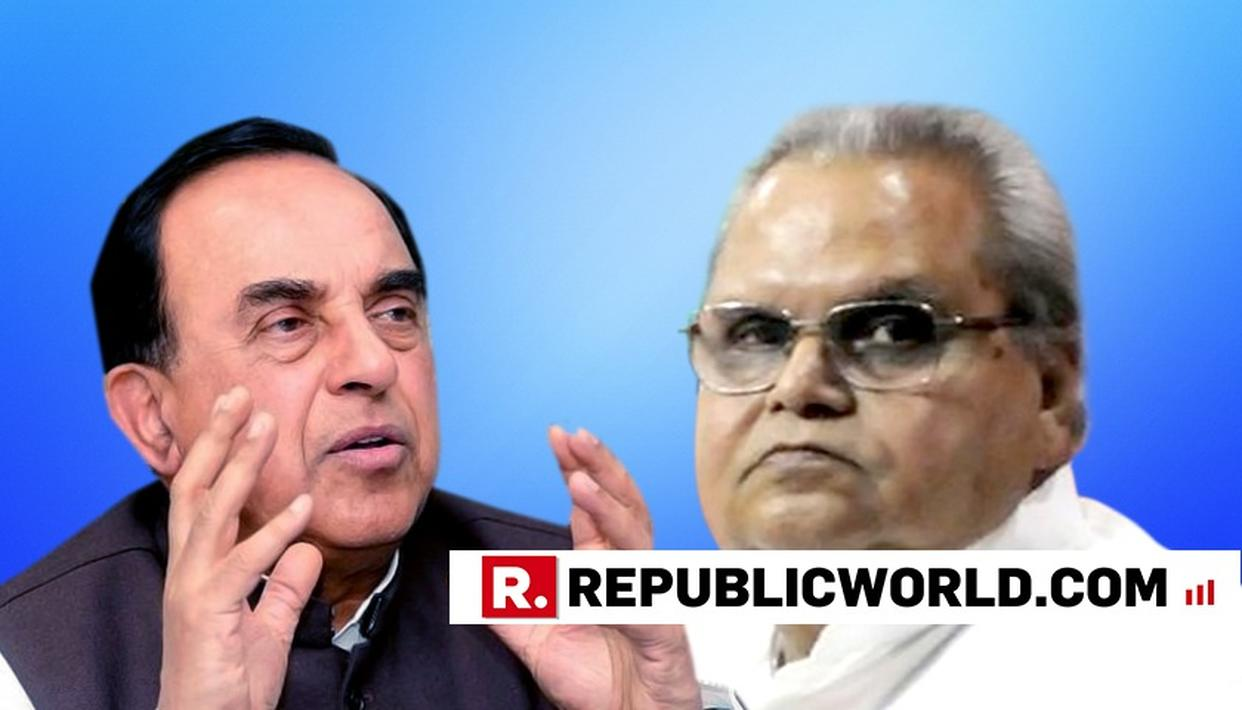 WATCH: DR SWAMY POINTS OUT 'REAL ISSUE' IN J&K GUV'S DECISION