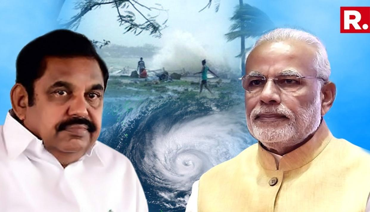 Cyclone Gaja: Tamil Nadu Government Seeks About Rs 15,000 Crores Aid From The Centre