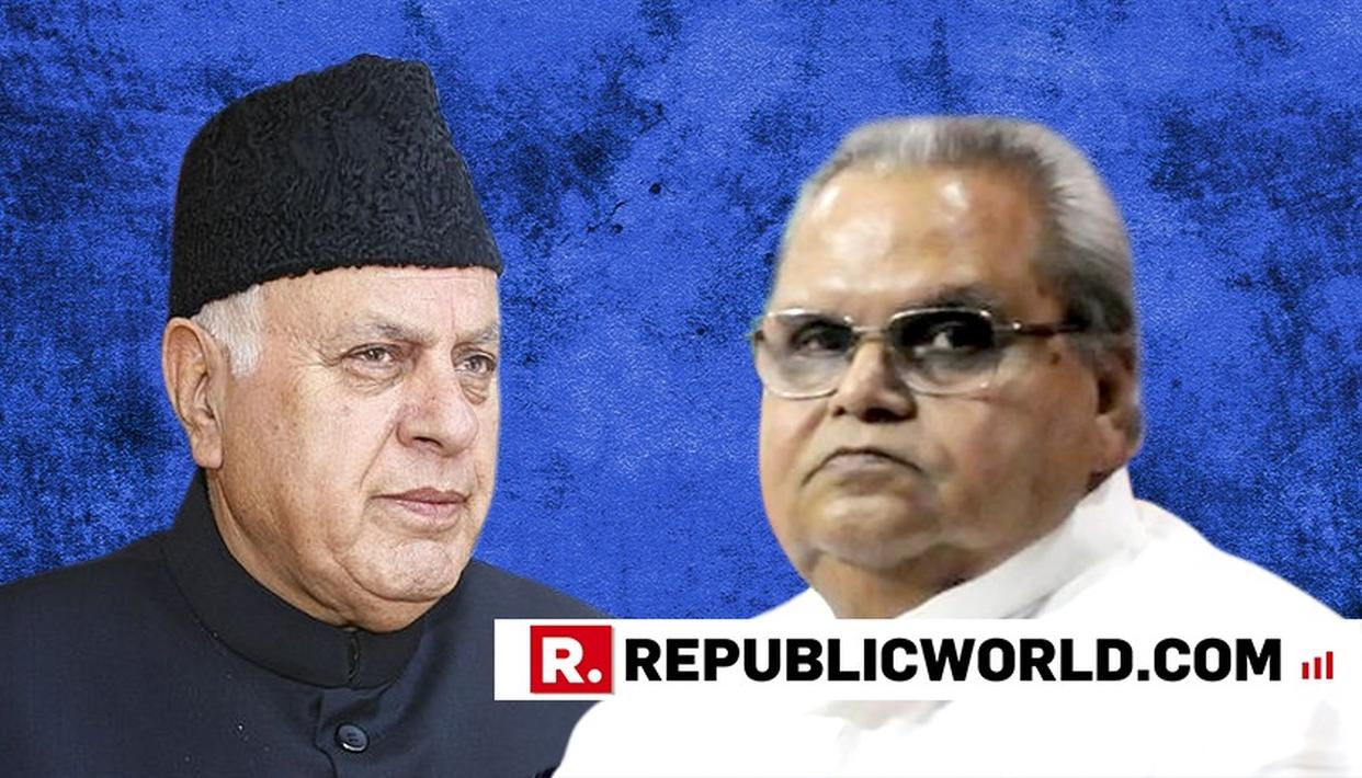 'Satya Pal Malik Is Centre's Slave'',Says Farooq Abdullah