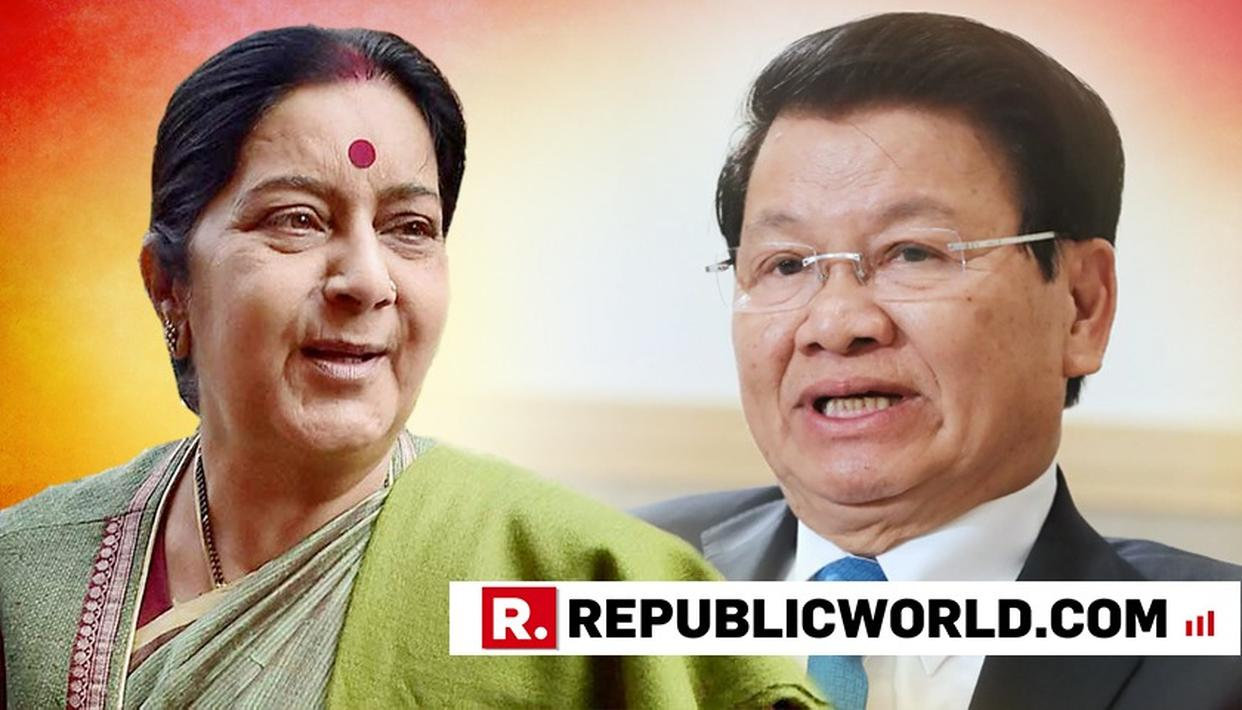 SWARAJ, LAOTIAN PM SISOULITH DISCUSS BILATERAL TIES