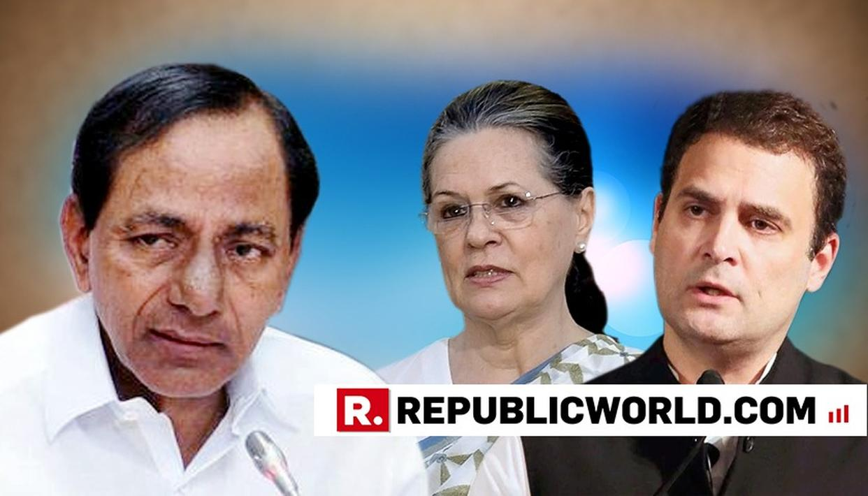 SONIA, RAHUL ATTACKS TRS CHIEF RAO