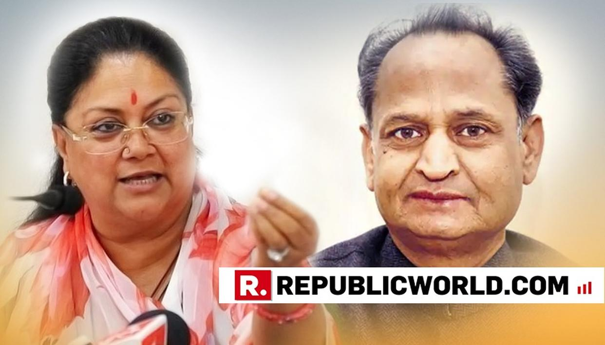 ''RAJE GOVERNMENT PATRONISED LIQUOR, LAND AND SAND MAFIA IN RAJASTHAN'', SAYS ASHOK GEHLOT