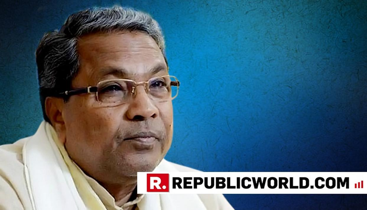 TOO EARLY TO ASSESS JDS-CONG GOVT PERFORMANCE: SIDDARAMAIAH