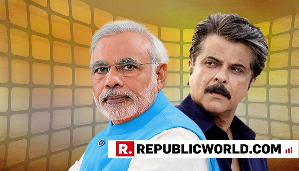 HERE'S WHY ANIL KAPOOR JUST GAVE A HUGE ENDORSEMENT TO PM NARENDRA MODI, READ HERE