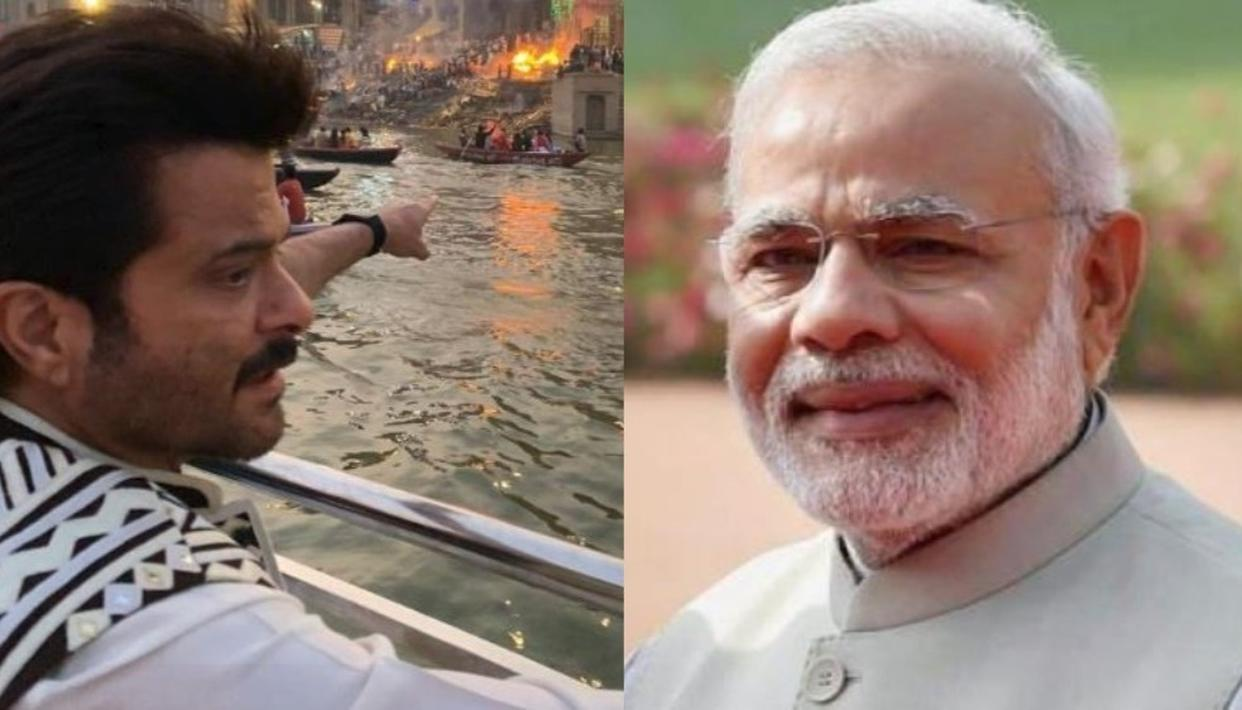 ANIL KAPOOR REACTS AFTER PM MODI EXPRESSES DELIGHT AT THE ACTOR'S EXPERIENCE IN VARANASI