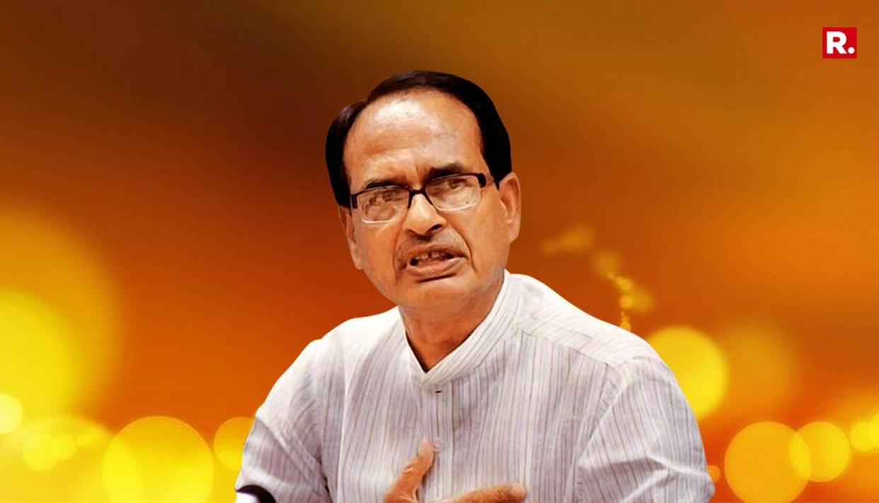 CONGRESS TURNED MADHYA PRADESH INTO A 'BIMARU' STATE: SHIVRAJ CHOUHAN