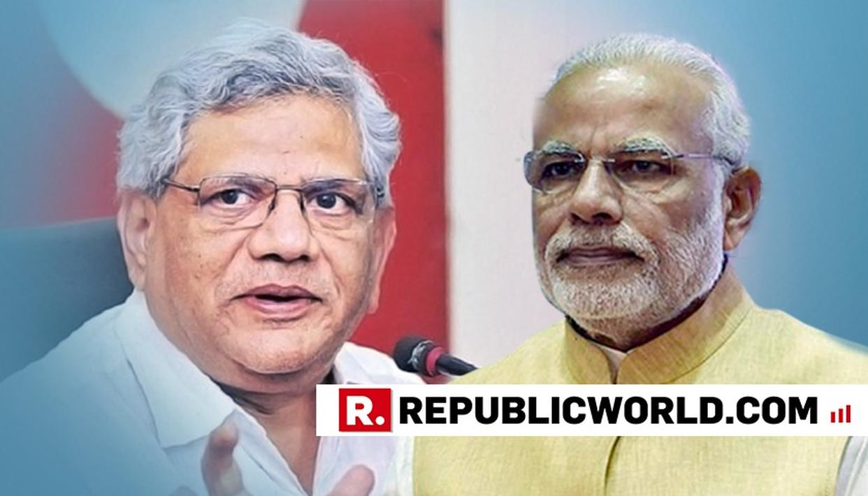 BJP INCITING RELIGIOUS TENSION, PM REMARK ON AYODHYA DISPUTE UNACCEPTABLE: YECHURY