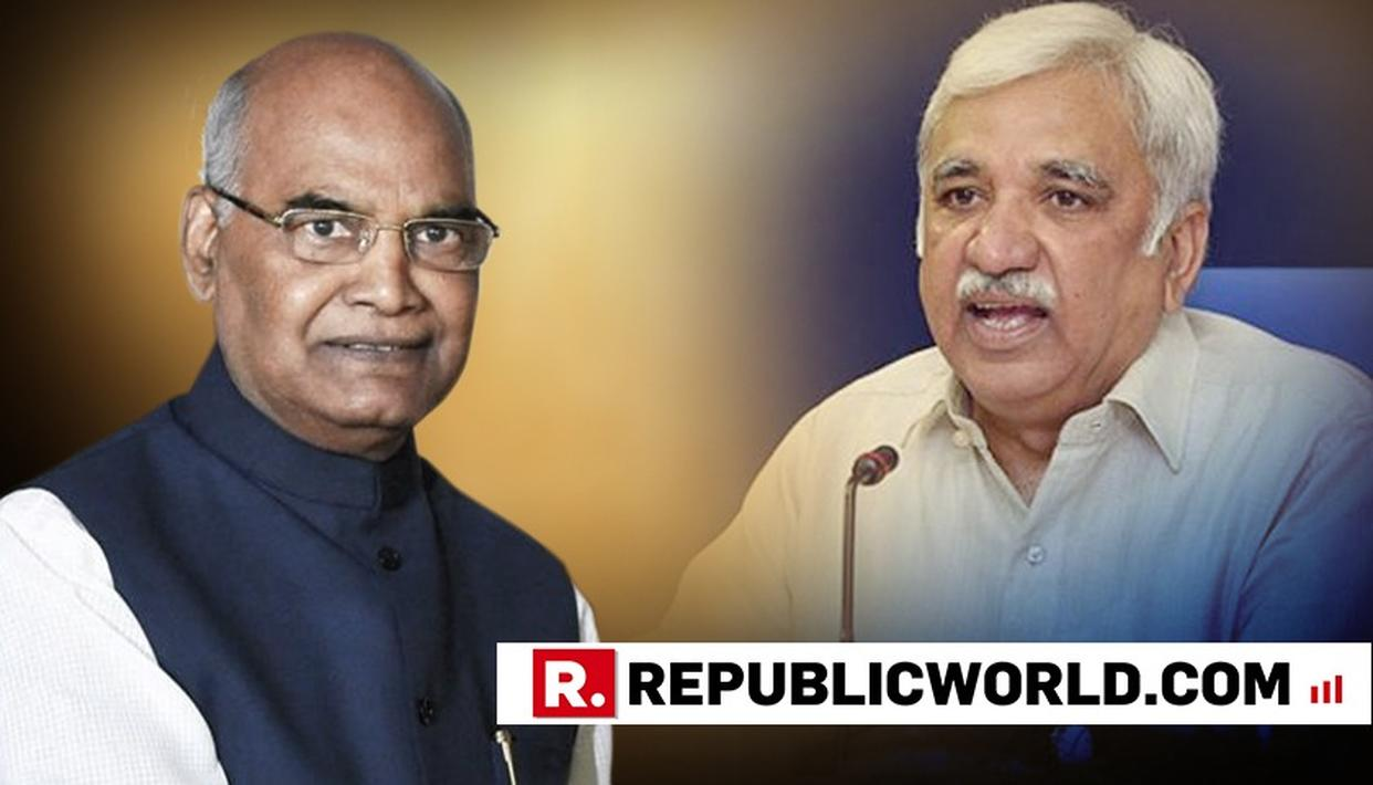 PRESIDENT KOVIND APPOINTS MR. SUNIL ARORA AS NEW CHIEF ELECTION COMMISSIONER