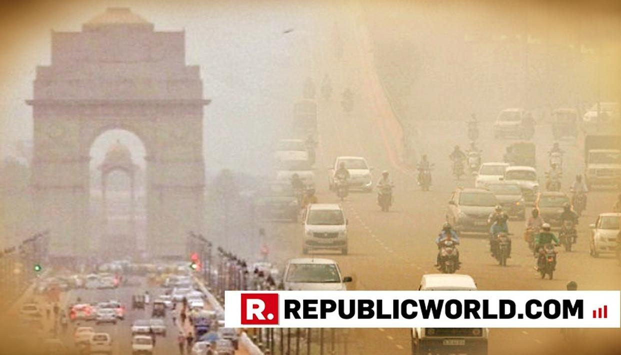 THICK HAZE ENGULFS DELHI, AIR QUALITY 'SEVERE' IN EIGHT AREAS