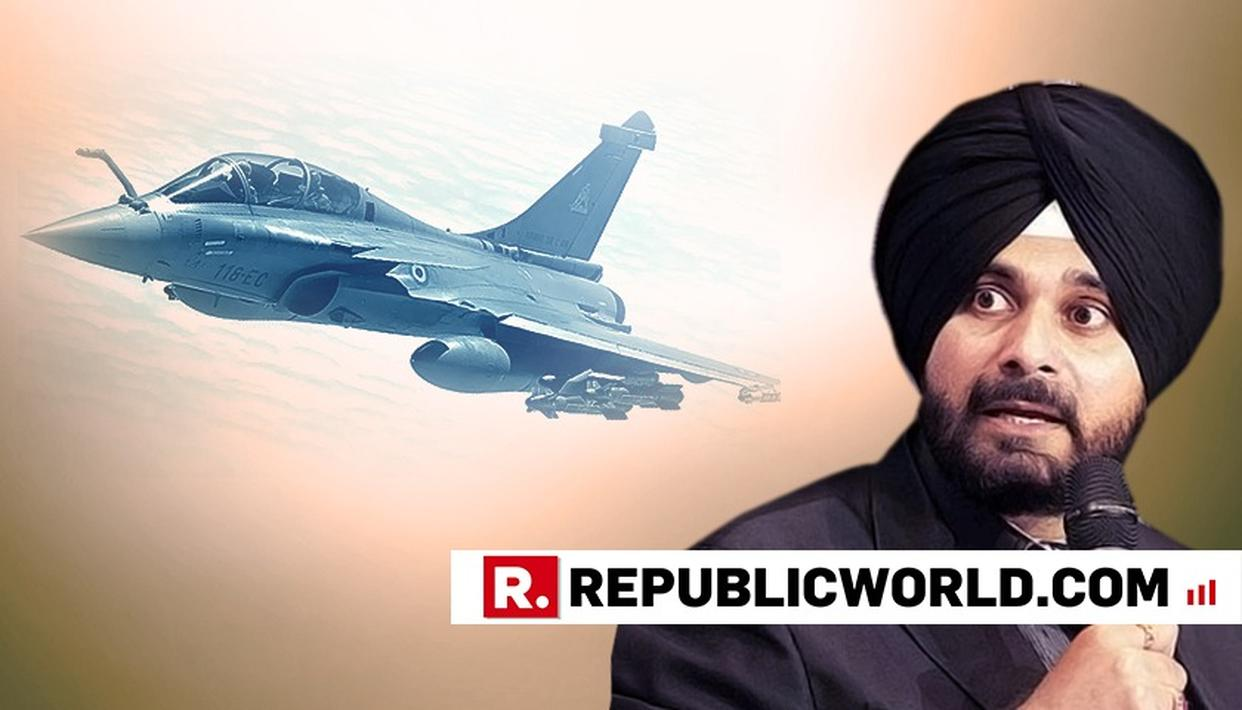 NAVJOT SINGH SIDHU CPMPARES HUGGING PAK ARMY CHIEF WITH RAFALE DEAL. WATCH WHAT HE SAID
