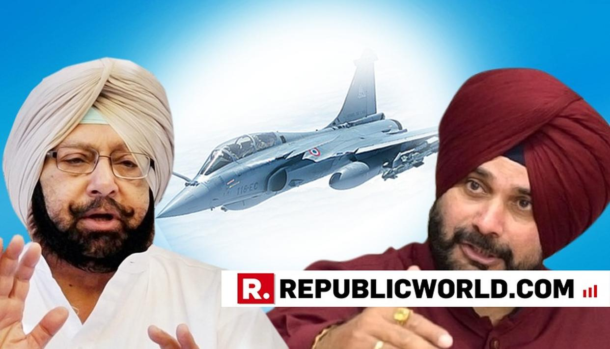 WATCH: PUNJAB CM CAPT AMARINDER SINGH REACTS TO SIDHU'S RAFALE COMMENT IN PAKISTAN