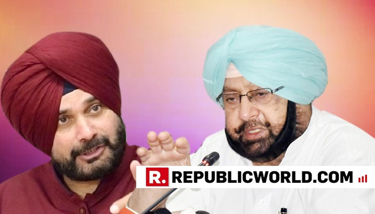 YOU ARE AN INDIAN, BY THE WAY: CAPTAIN AMARINDER SINGH TO SIDHU