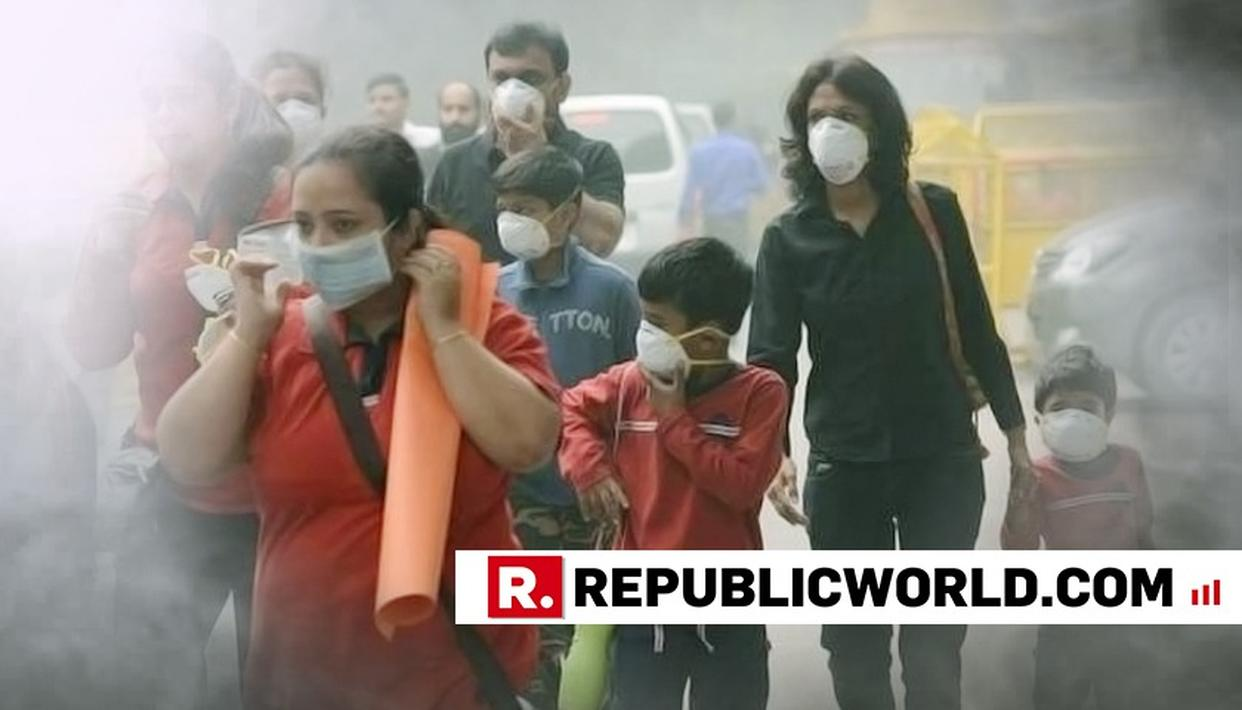 DELHI AIR QUALITY SLUMPS TO 'VERY POOR'