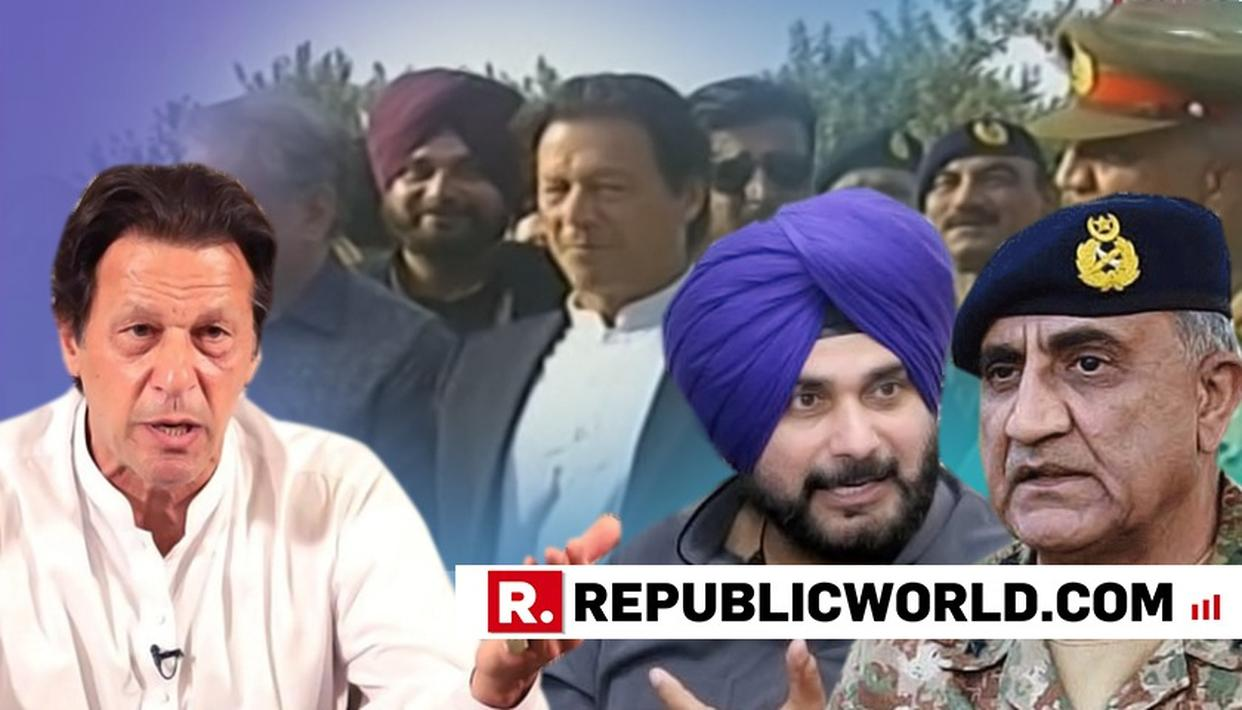 WATCH: NAVJOT SINGH JOSTLES TO BE IN TERROR-FRIENDLY PAKISTAN LEADERSHIP'S PHOTOSHOOT