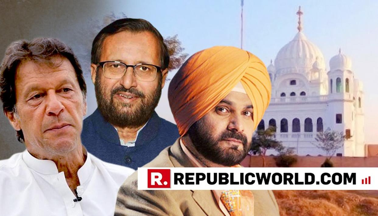 """HE IS PRAISING IMRAN TO THE HILT,"" SAYS PRAKASH JAVADEKAR CONDEMNING SIDHU"