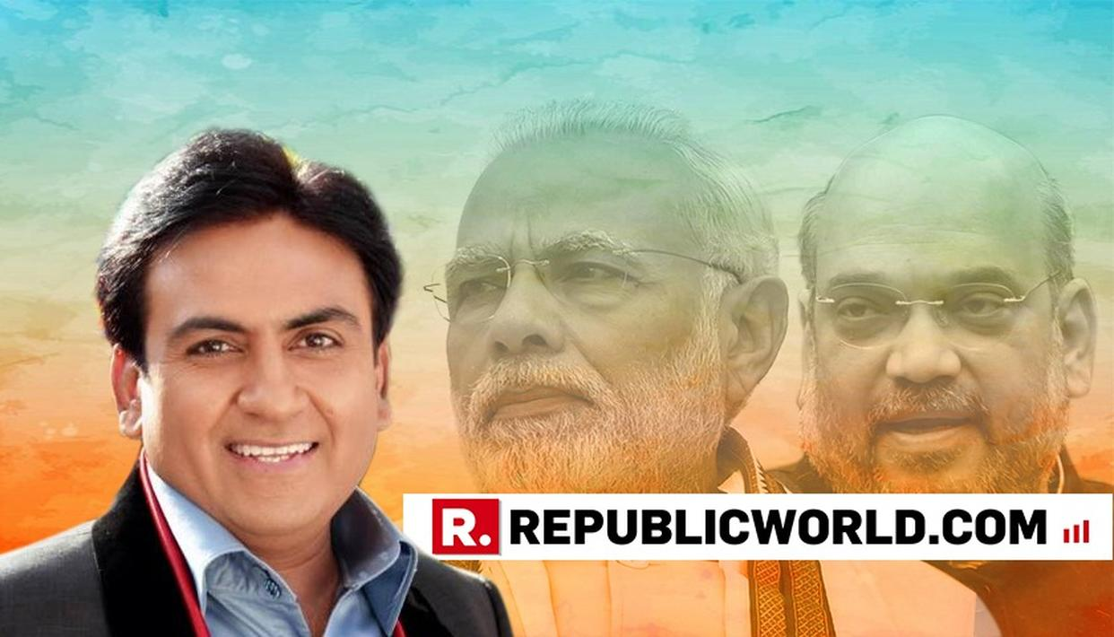 POPULAR TV ACTOR DILIP JOSHI CAMPAIGNS FOR BJP IN RAJASTHAN