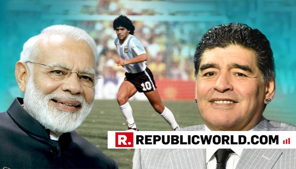 PM INVOKES MARADONA AT ARGENTINA YOGA EVENT