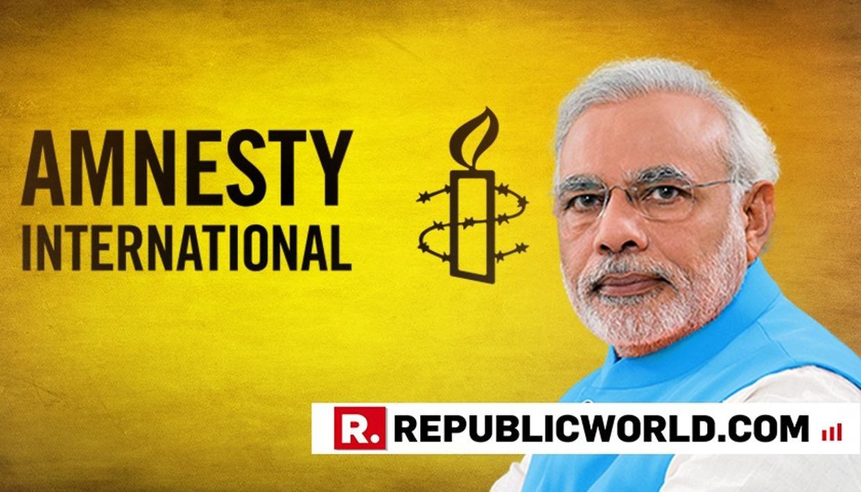 AMNESTY PLANS 'GLOBAL' ANTI-MODI RABBLE-ROUSING AS INDIA TAKES CENTRESTAGE AT G-20