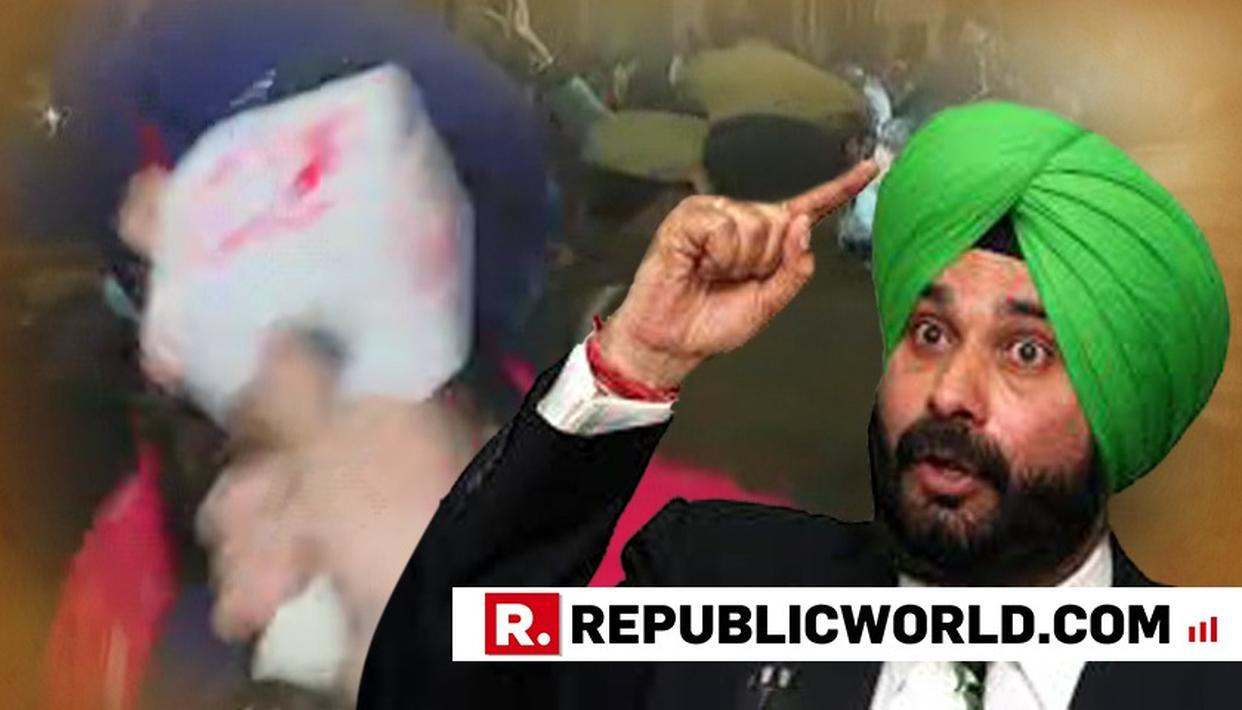 WATCH: AFTER HIS OWN CABINET MINISTERS QUESTION HIM, NAVJOT SINGH SIDHU ASSAULTS REPUBLIC TV'S REPORTER