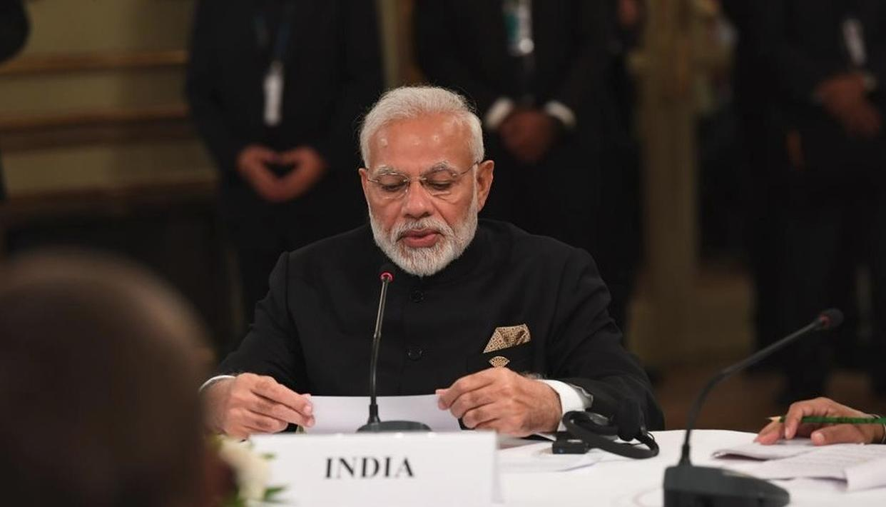 'INDIA TO HOST G20 SUMMIT IN 2022', ANNOUNCES PM MODI