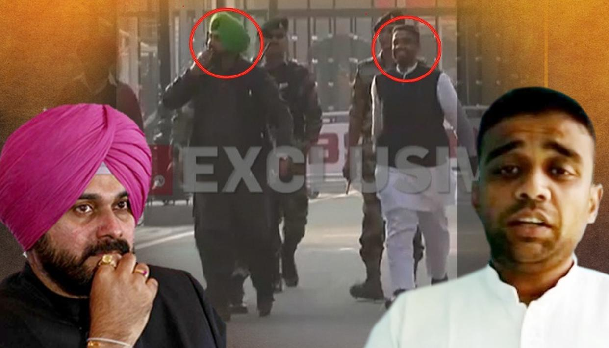SHOCKING: CONG LEADER NAVJOT SINGH SIDHU SEEN WITH AMRITSAR DUSSEHRA EVENT ORGANISER, MITHOO MADAN