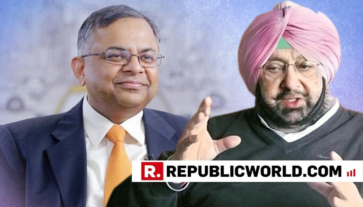TATA SONS CHAIRMAN MEETS PUNJAB CM, TO EXPAND PRESENCE IN THE STATE