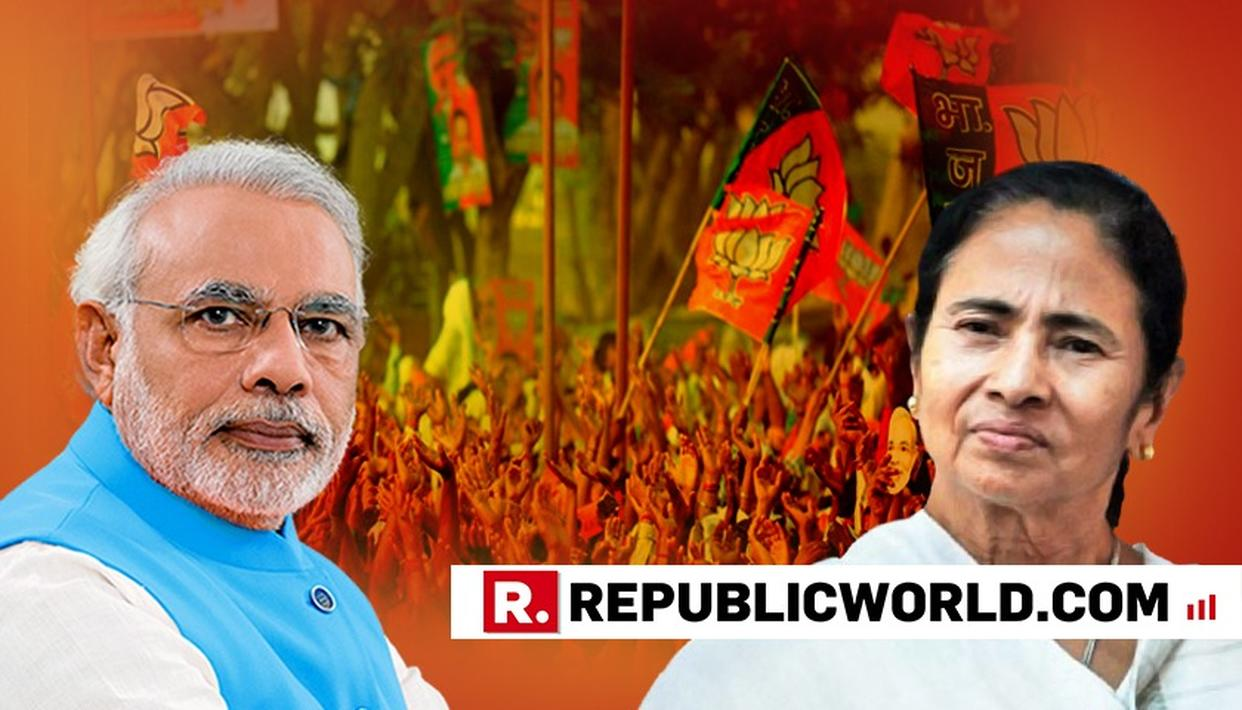 A DAY BEFORE BJP'S PLANNED WEST BENGAL 'RATH YATRA', MAMATA BANERJEE LAUNCHES 'RAVAN YATRA' ATTACK