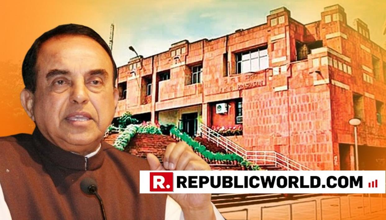 'JNU WILL HAVE TO BE BROUGHT UNDER AFSPA,' SAYS Dr. SUBRAMANIAN SWAMY CLAIMING UNIV REFUSED TO ALLOW HIS SECURITY IN