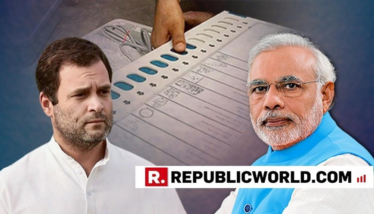 """IN MODI'S INDIA, THE EVM'S HAVE MYSTERIOUS POWERS"" SAID RAHUL GANDHI ATTACKING PM MODI"