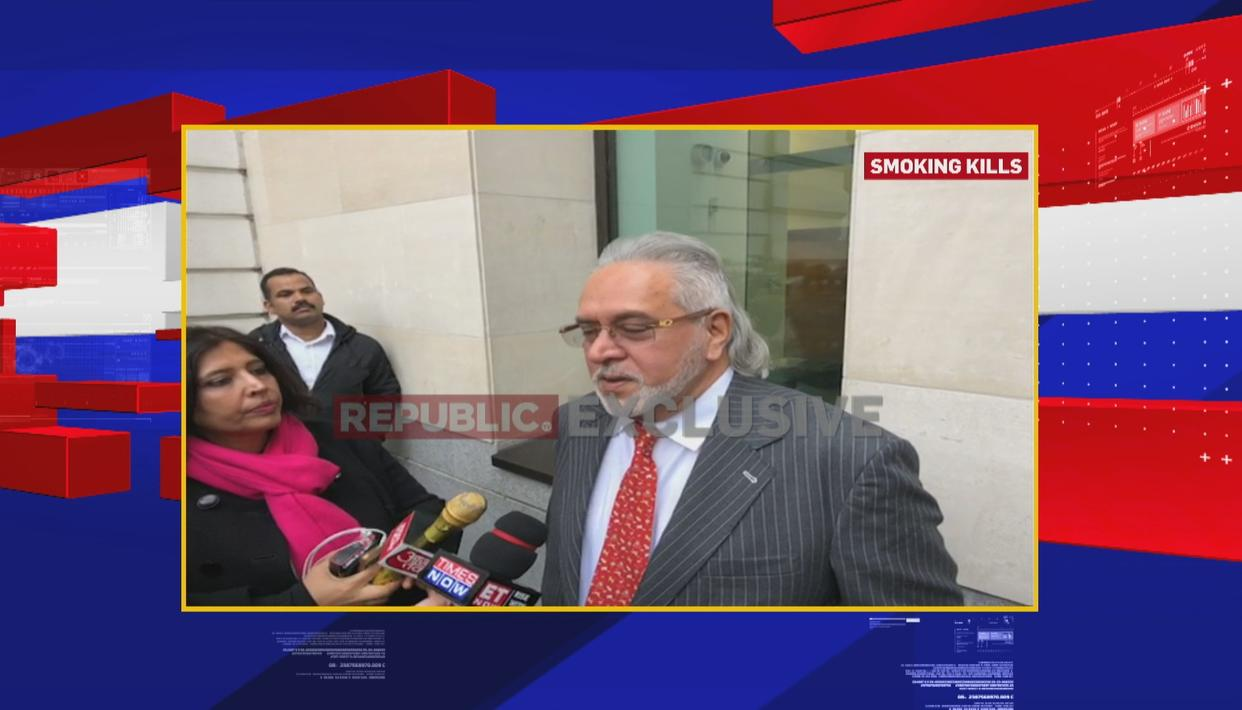 WATCH: VIJAY MALLYA SPEAKS TO REPORTERS AHEAD OF HEARING AT WESTMINSTER COURT