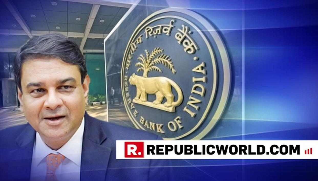 URJIT PATEL STEPS DOWN AS RBI GOVERNOR