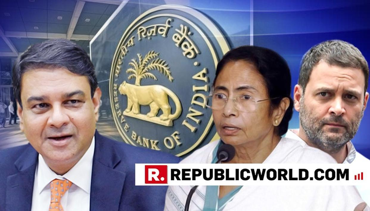 AS URJIT PATEL RESIGNS FROM RBI, OPPOSITION ATTACKS MODI GOVERNMENT