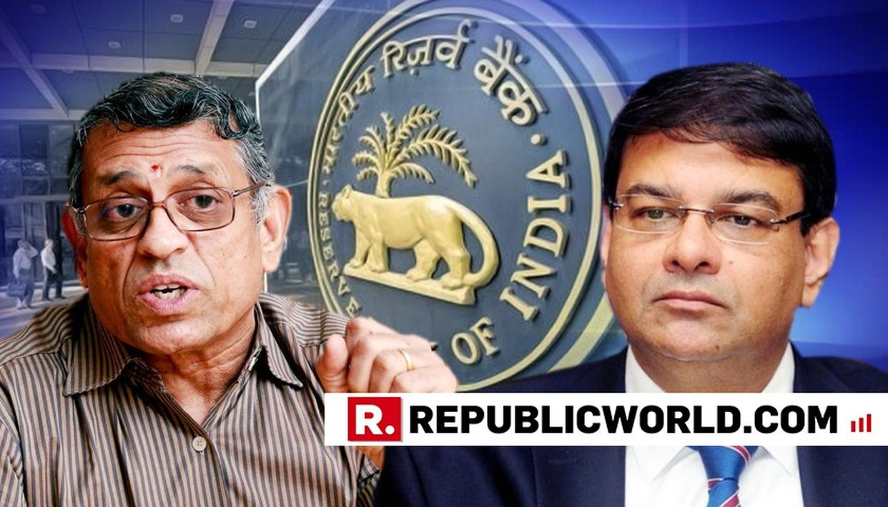 'SURPRISED', SAYS RBI INDEPENDENT DIRECTOR GURUMURTHY ON PATEL'S RESIGNATION