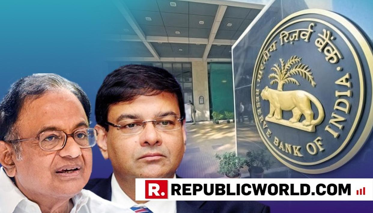 """SADDENED, NOT SURPRISED"": CHIDAMBARAM ON RBI GUV'S RESIGNATION"